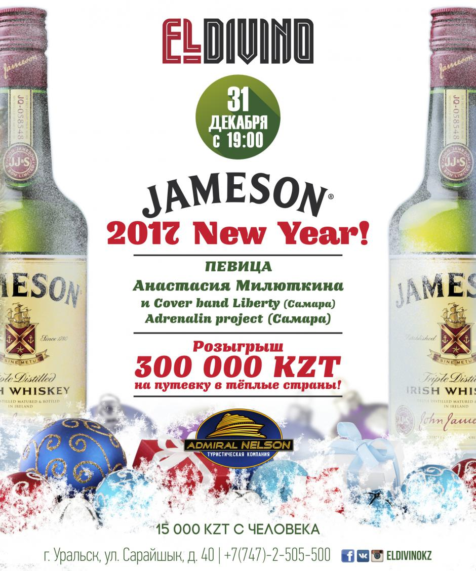 JAMESON HAPPY NEW YEAR 2017!
