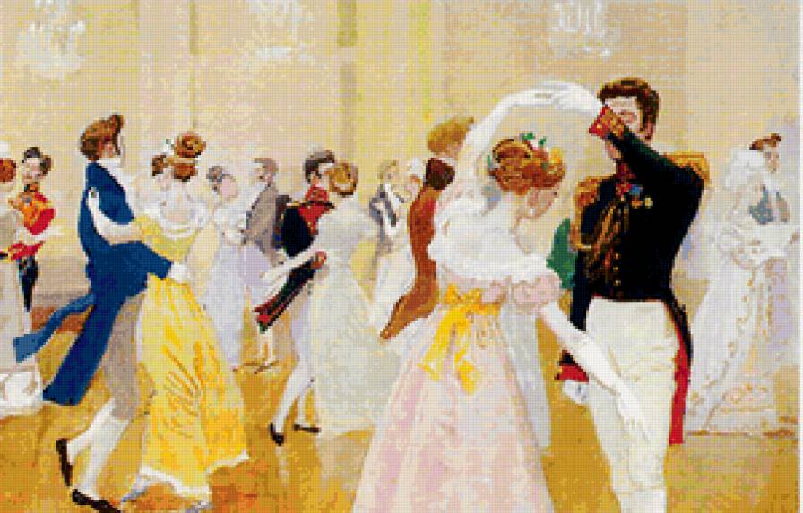 Новогодние бальные танцы