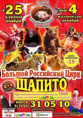 Большой российский цирк «ШАПИТО»