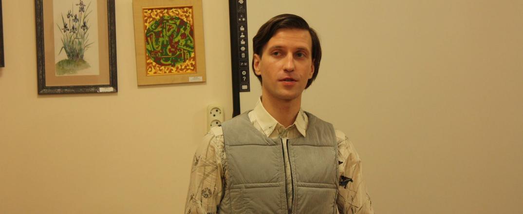 Персональная выставка Артёма Максимова