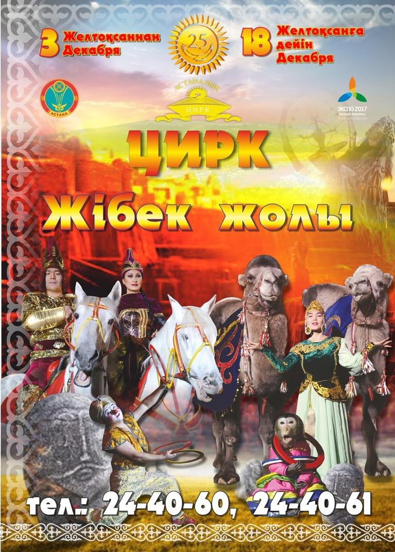 """Цирковое представление """"Шёлковый путь"""""""