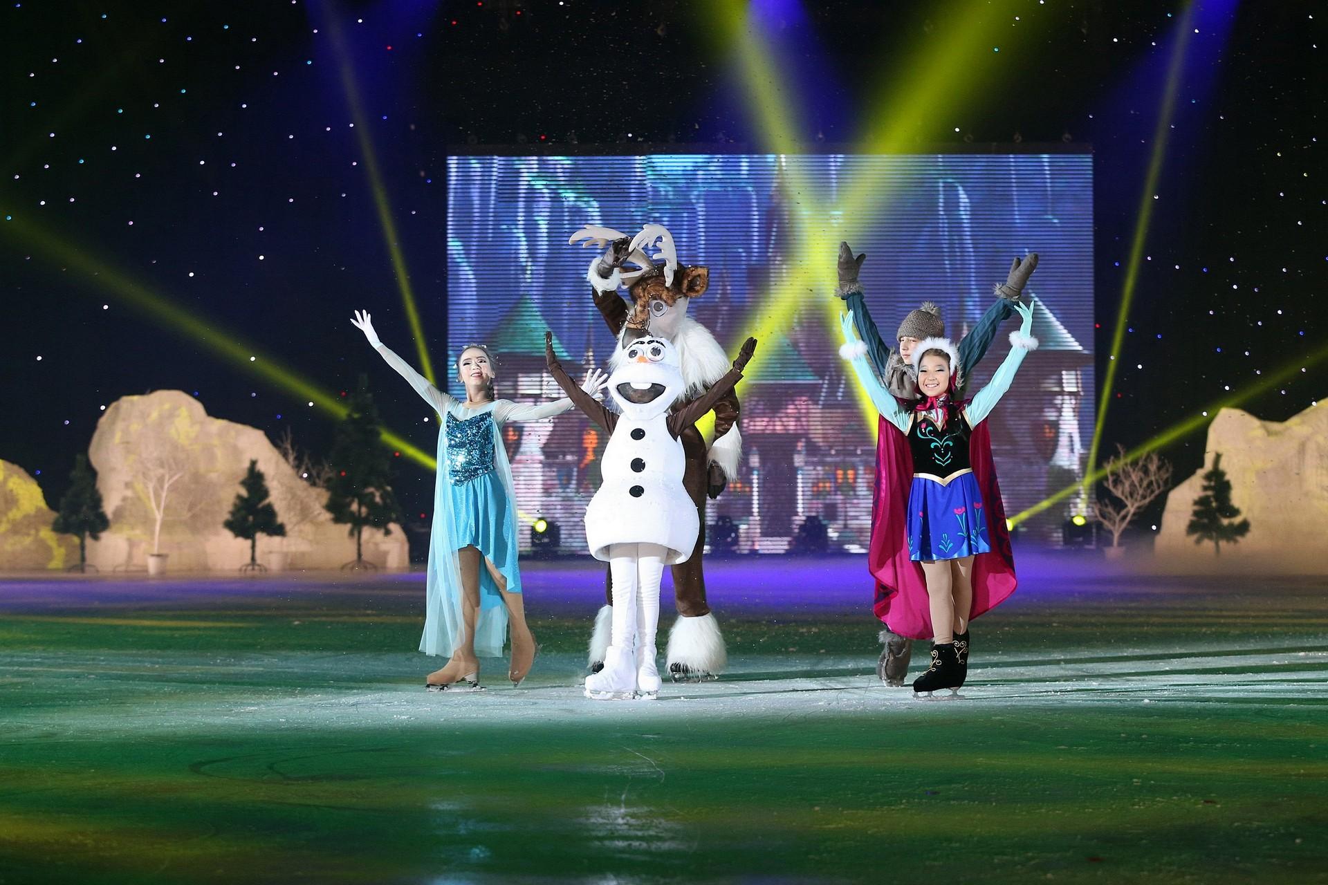 """Шоу """"Ледяное сердце"""" в Алматы"""
