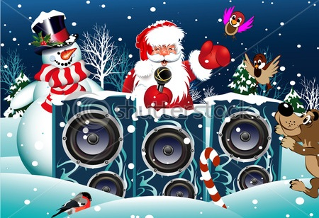 Новогодняя молодежная дискотека