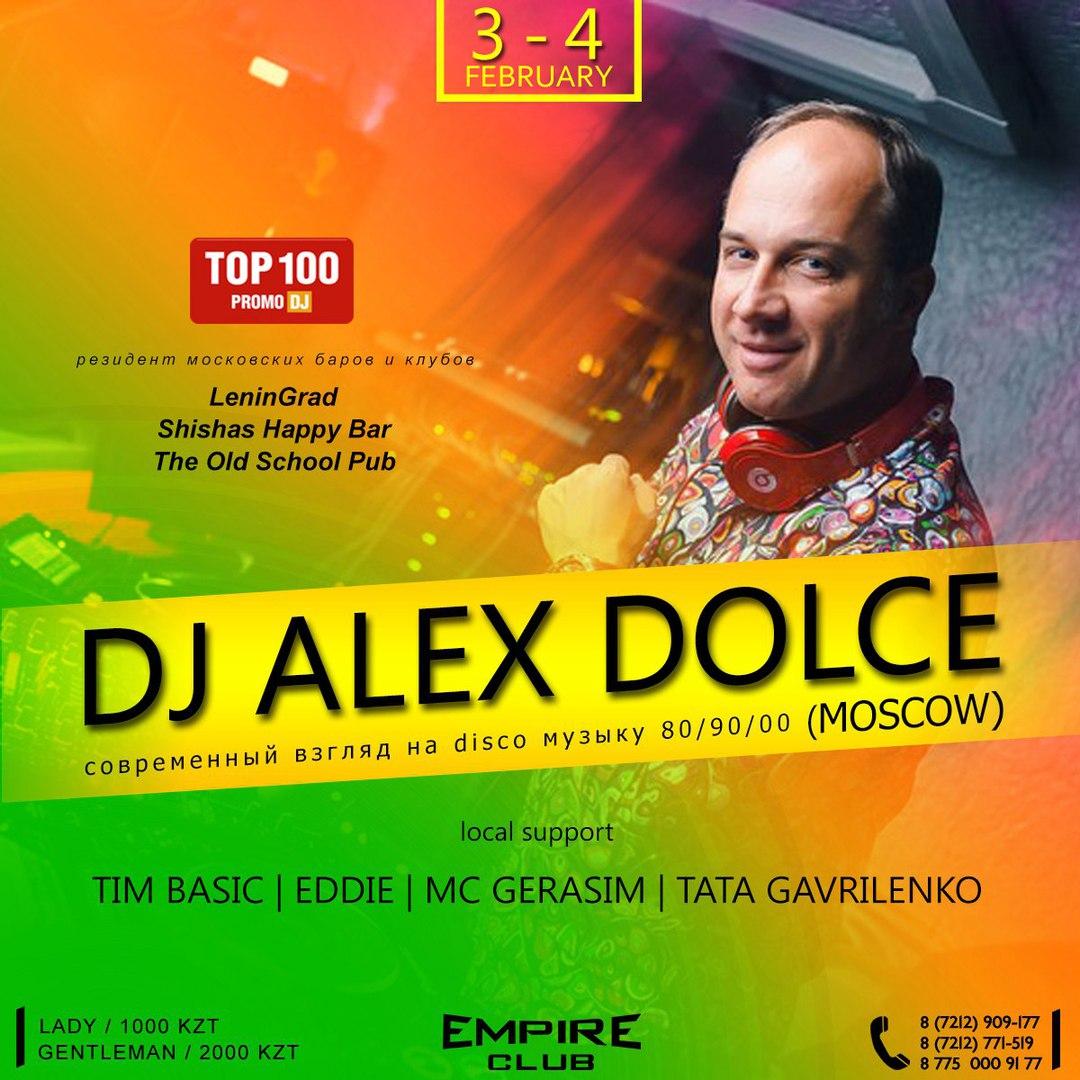 DJ ALEX DOLCE