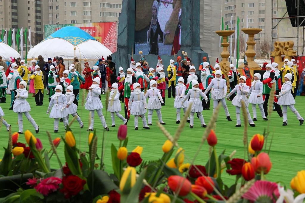 Концерт к празднику Наурыз