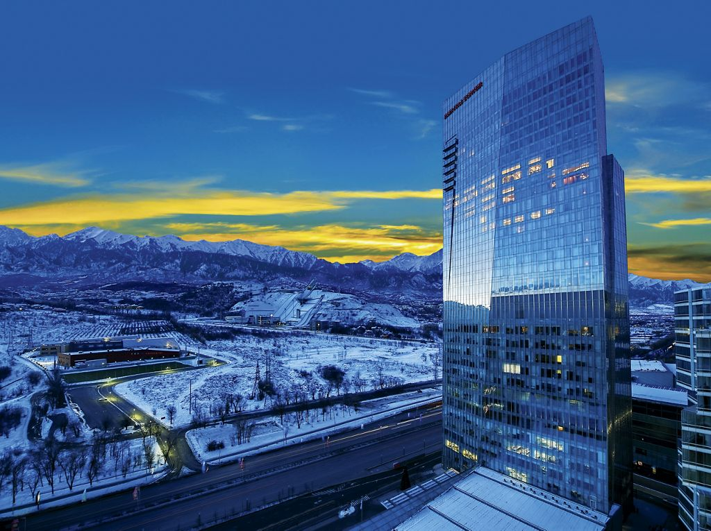 Отель The Ritz-Carlton, Almaty