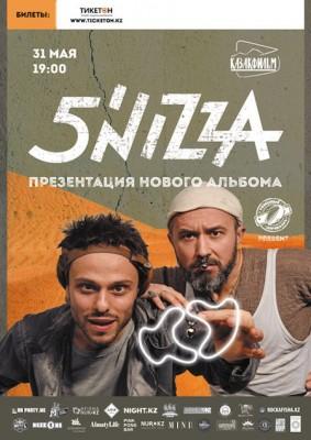Концерт группы 5`NIZZA в Алматы