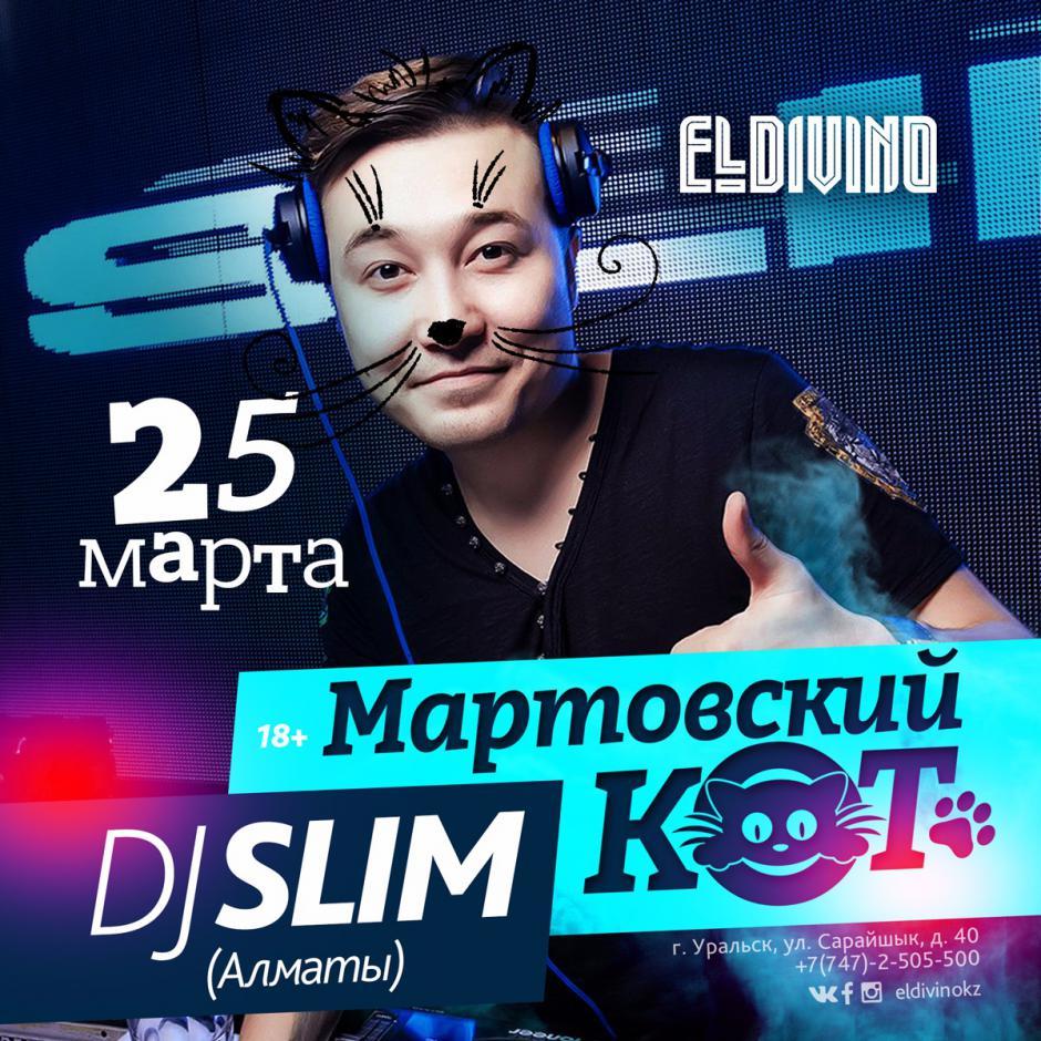 Мартовский кот DJ SLIM (АЛМАТЫ)
