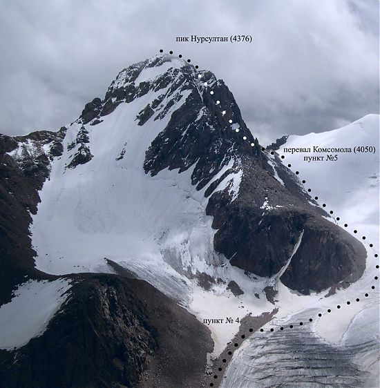 Альпиниада на пик Нурсултан 4 376 м