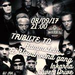 Rammstein и Bloodhound gang.