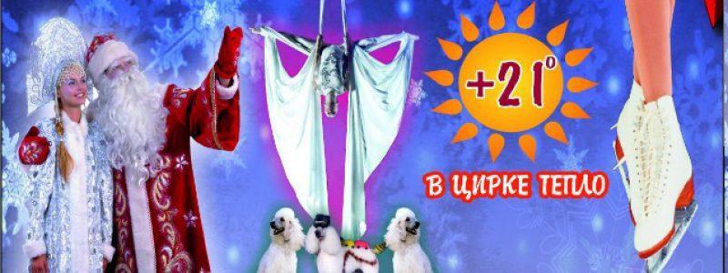 """Цирк на льду. Новогодняя Ёлка в """"Шапито"""""""