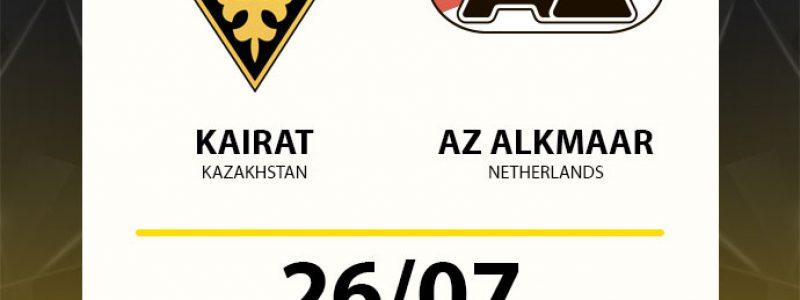 ФК Кайрат (Казахстан) - ФК Алкма́р Занстре́к (Нидерланды)