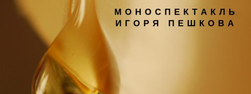 Капля меда. Моноспектакль Игоря Пашкова