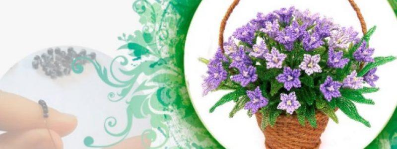 Мастер-класс: Плетем цветы из бисера