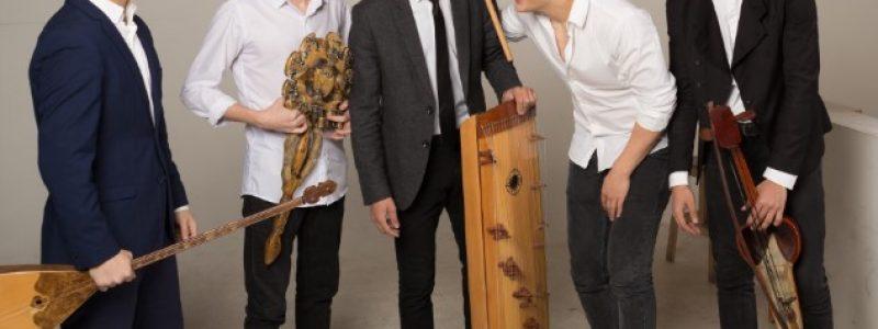 Концерт модерн этно-джаз группы Steppe Sons