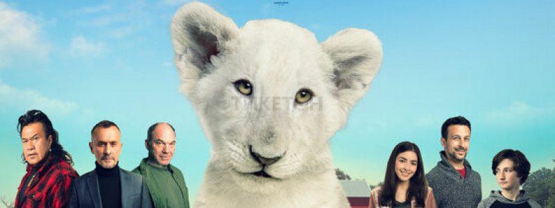 Лена и львенок